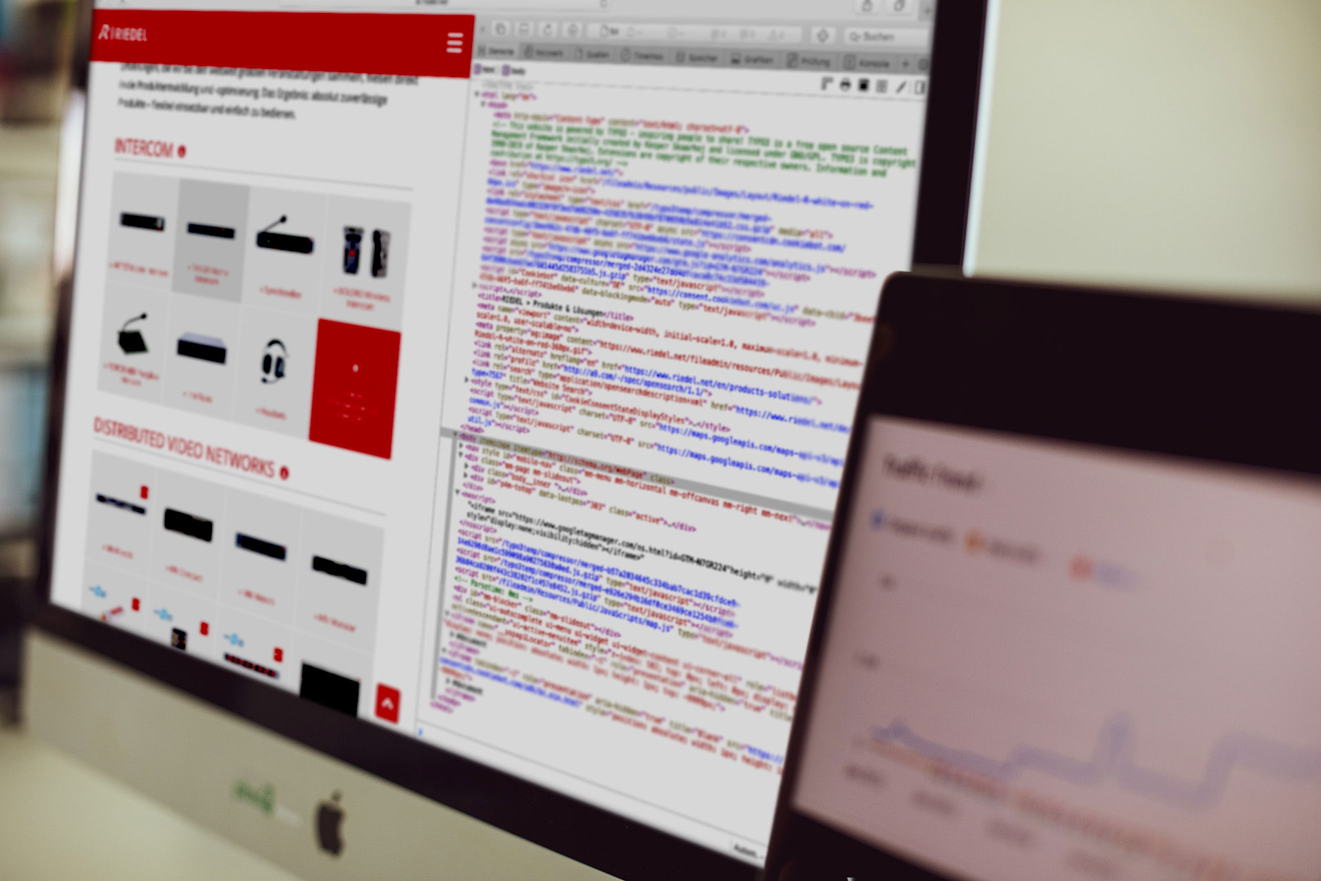 TYPO3 Website & Extranet